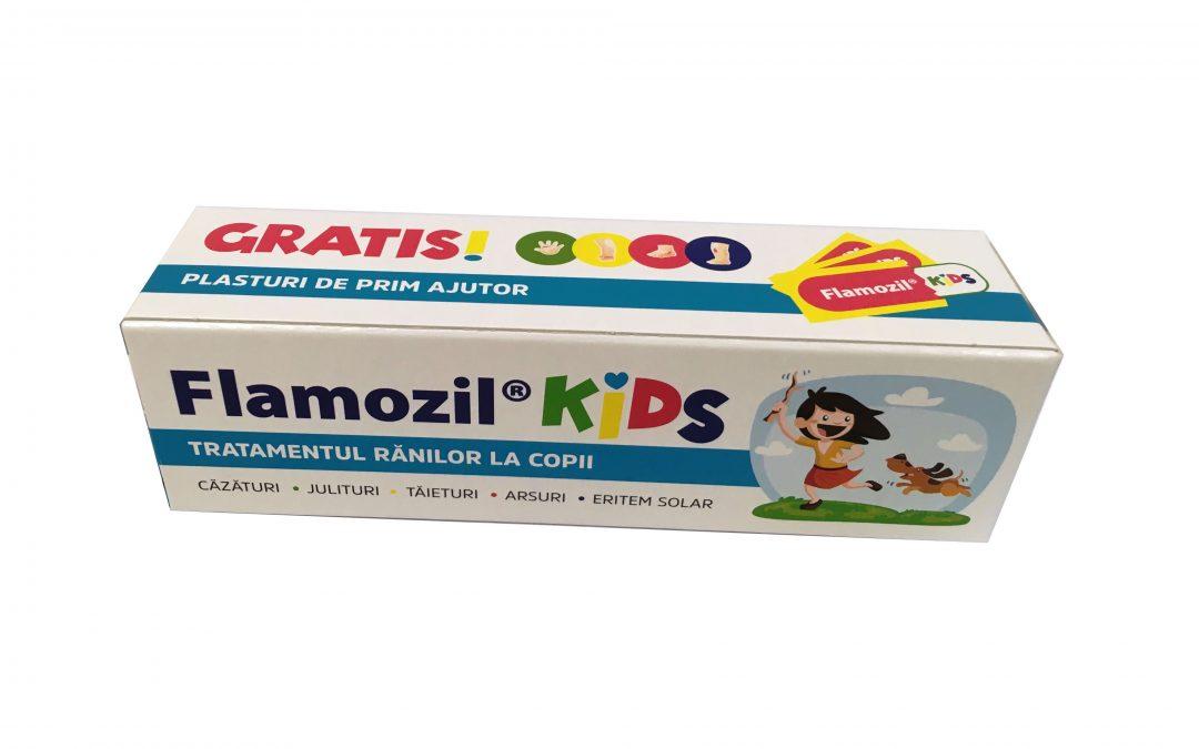Flamozil Kids este disponibil în farmaciile Catena