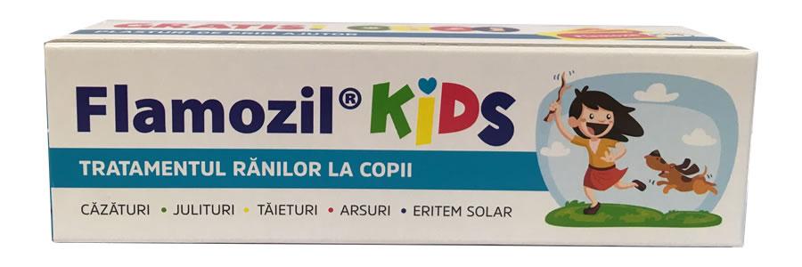 Extindere de gamă Flamozil – FLAMOZIL KIDS