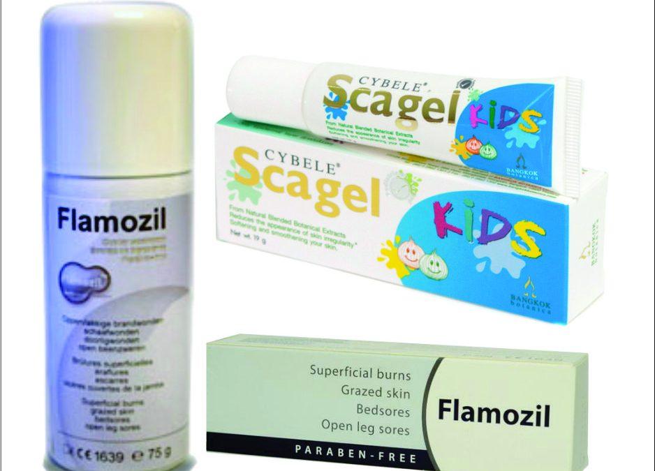 Juliturile și cicatricile la copii – Flamozil și Scagel Kids – o combinație reușită