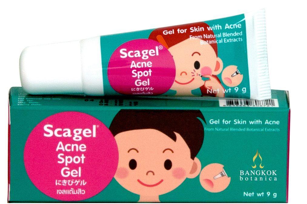 Scapă de coșuri cu Scagel Acnee Spot Gel – Formulă naturală pentru vindecarea acneei
